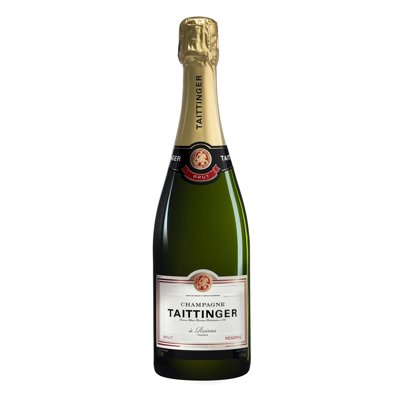 Champagne Taittinger brut reserva 75 cl.