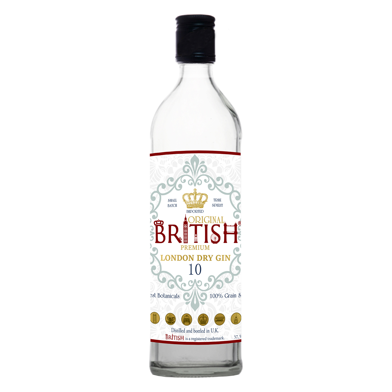 Ginebra British premium 70 cl.