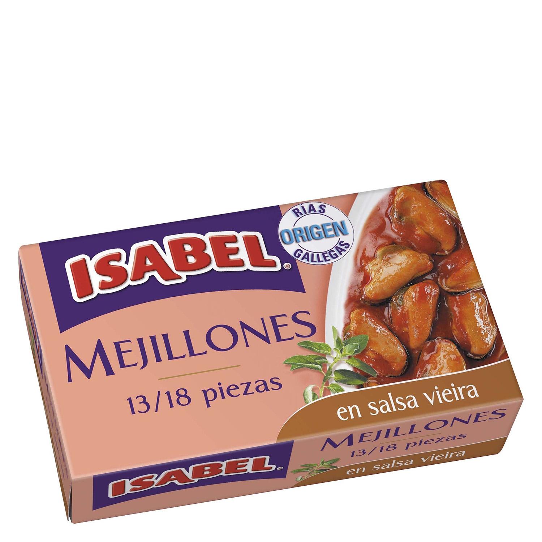 Mejillones en salsa Vieira