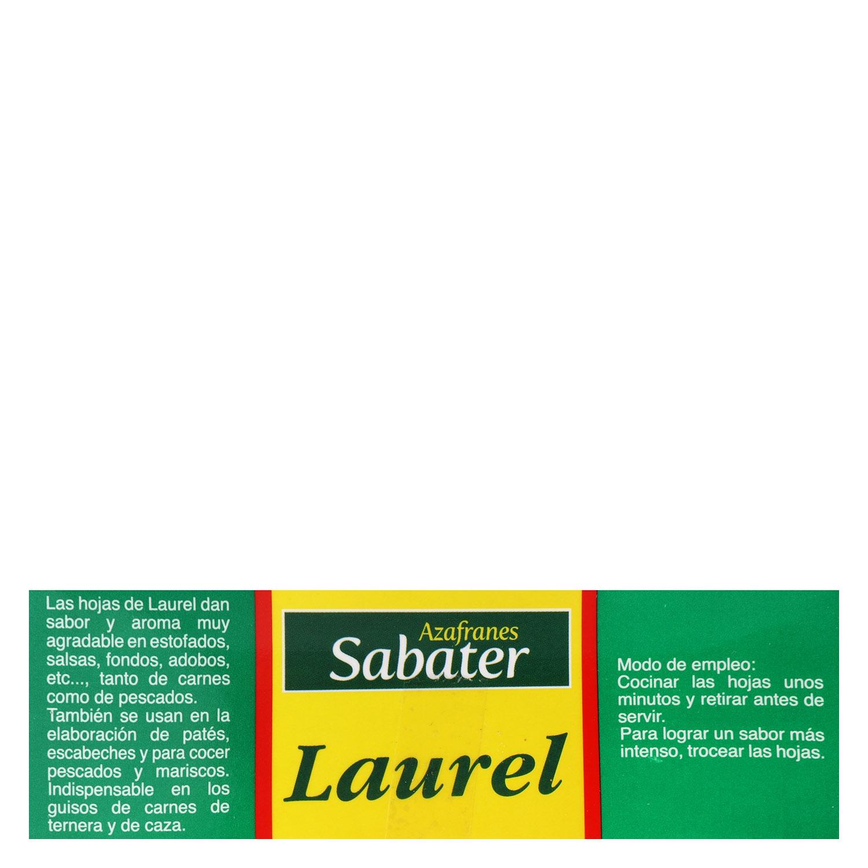 Laurel Sabater 15 g. - 2
