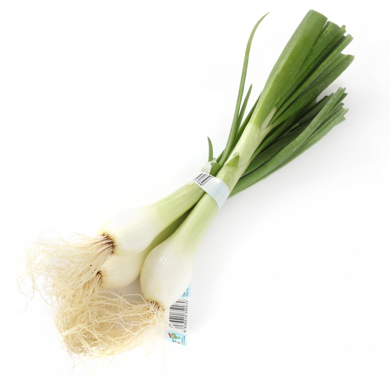 Cebolleta blanca  manojo 3 ud