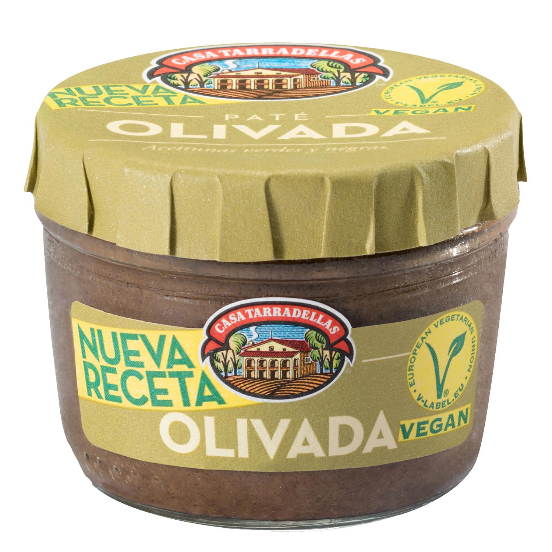 Olivada Casa Tarradellas sin gluten 125 g.