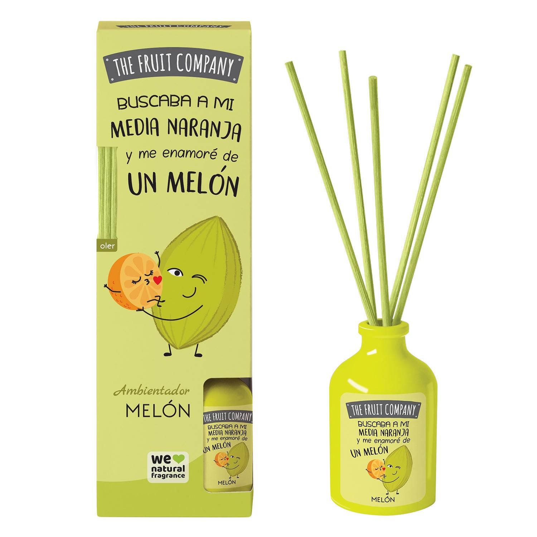 Ambientador varillas melón The fruit company 40 ml.