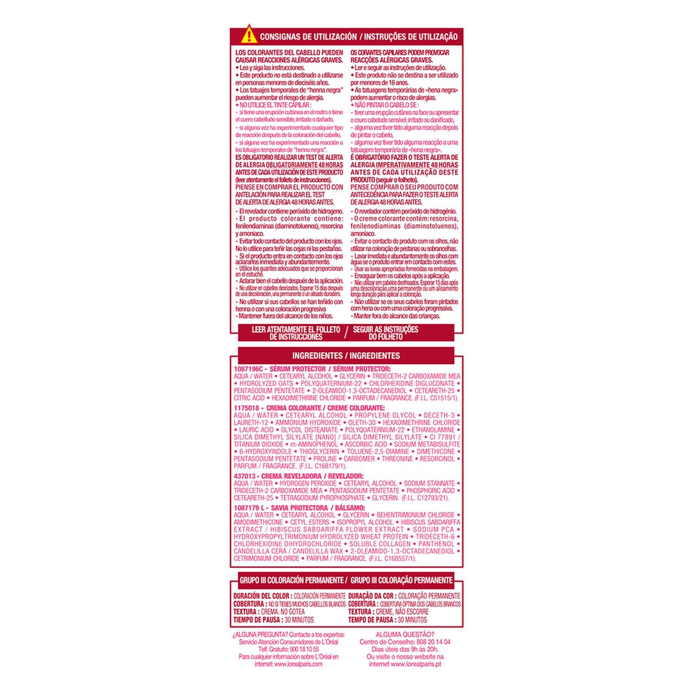 Tinte creme nº 02 Rubio Ultra Claro Dorado - 3