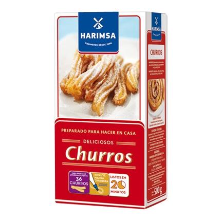 Harina de trigo preparada para churros