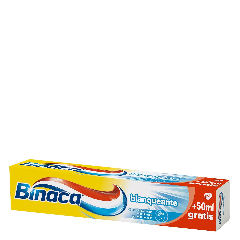 Dentífrico Blanqueante Binaca 75 ml.