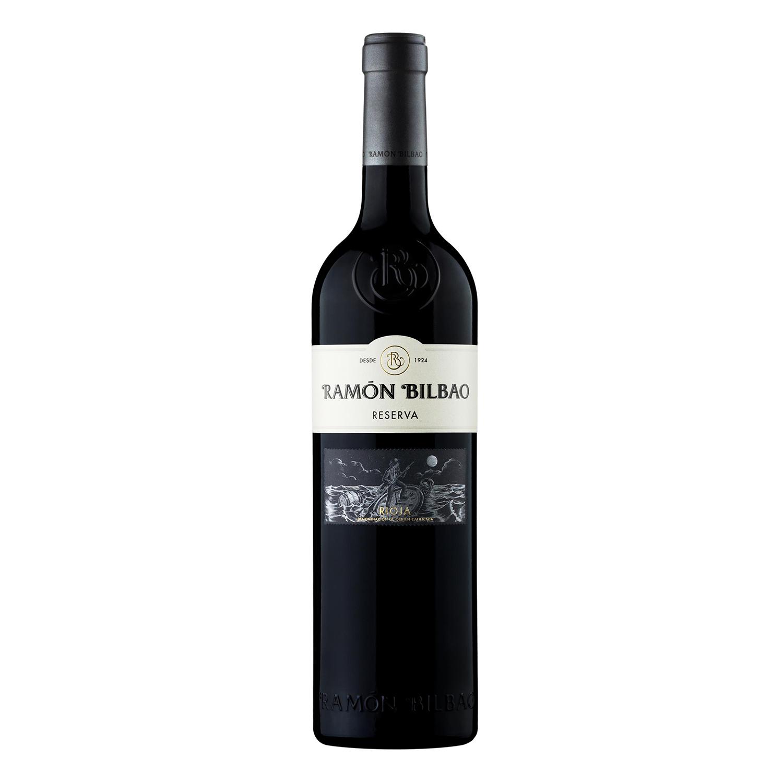 Vino D.O. Rioja tinto reserva Ramón Bilbao 75 cl.