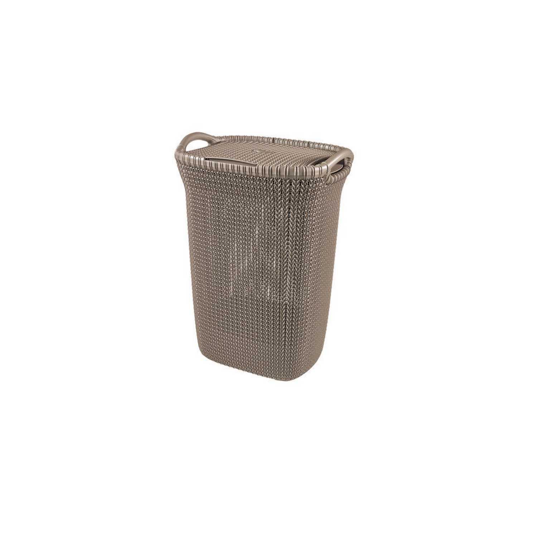 Cesto de ordenación  de Plástico 34 x 45 x 61 cm Marrón