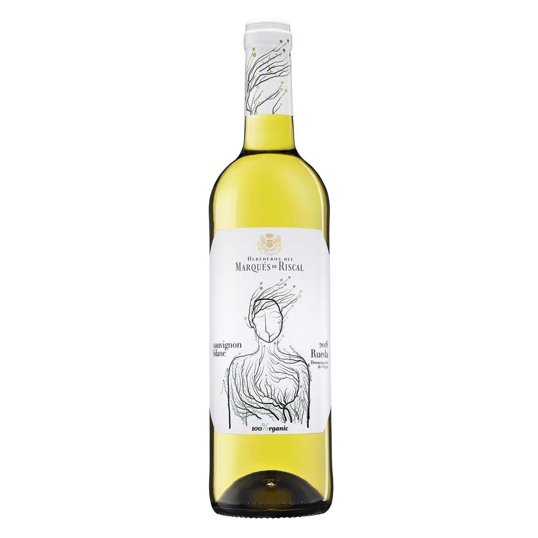 Vino D.O. Rueda blanco sauvignon ecológico Marqués de Riscal 75 cl.