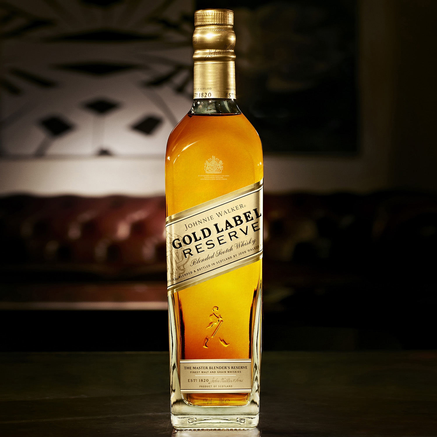 Whisky Johnnie Walker Gold Label Reserva escocés 70 cl. - 3