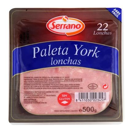 Paleta York lonchas
