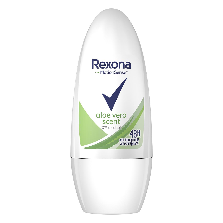 Desodorante para mujer aloe vera Rexona 50 ml.