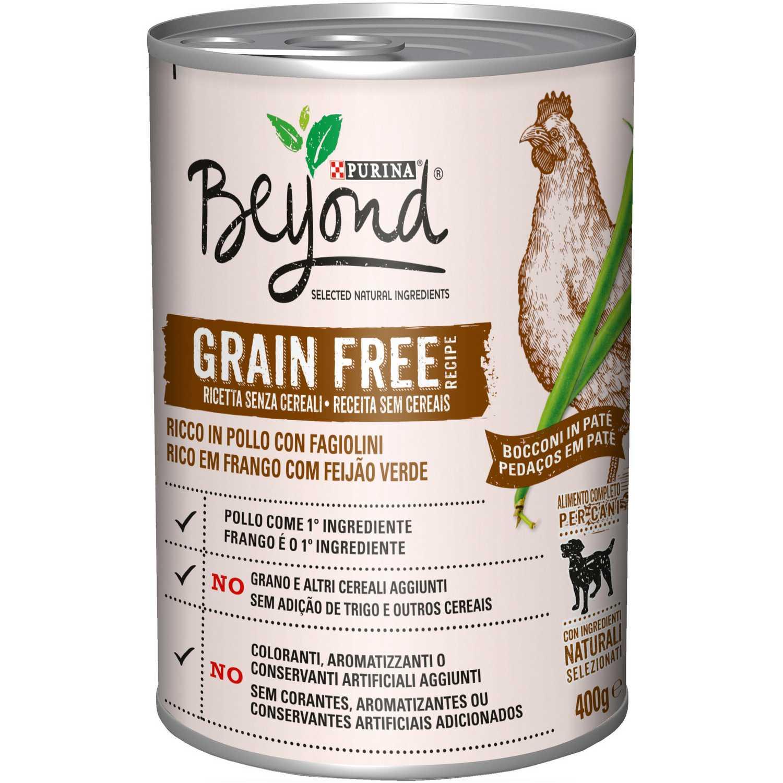 Alimento Perro Beyond Grain Free Pollo Lata 400 grs