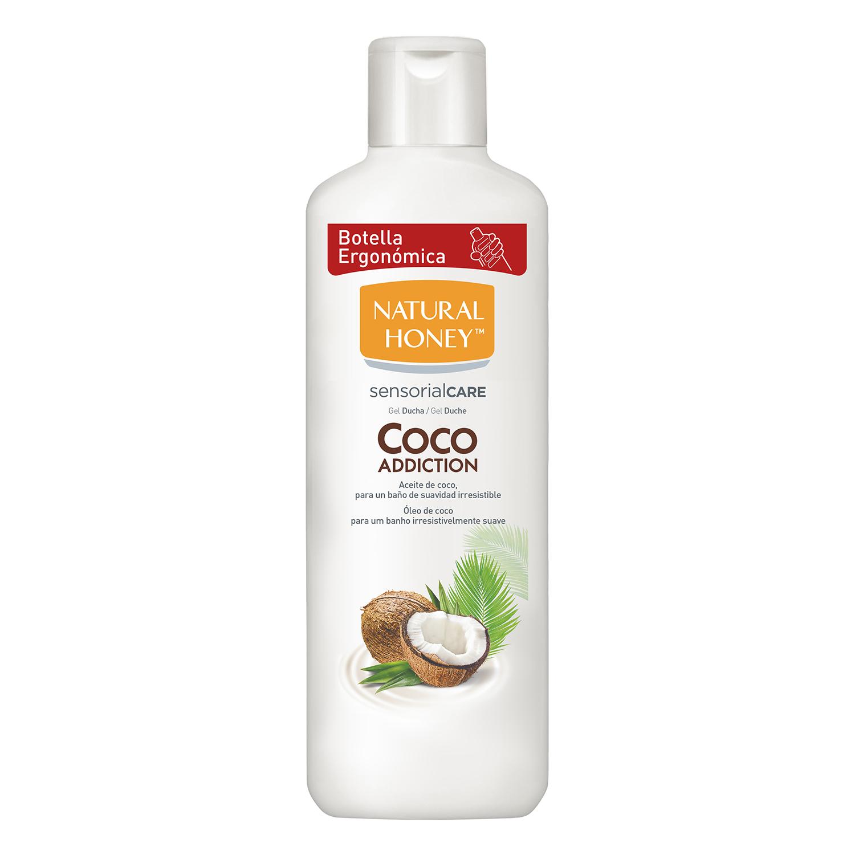 Gel de ducha Coco Natural Honey 650 ml.