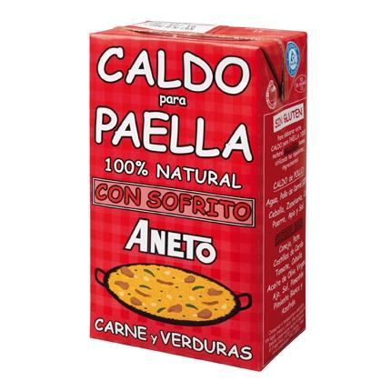 Caldo para paella 100% natural