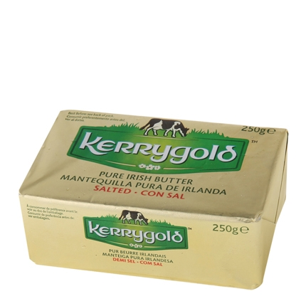 Mantequilla Kerrygold con sal 250 g.