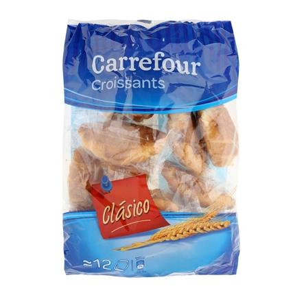 Croissants clásicos Carrefour 350 g.