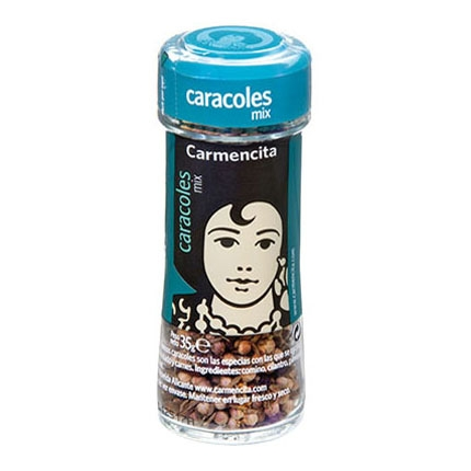 Sazonador para caracoles Carmencita 35 g.