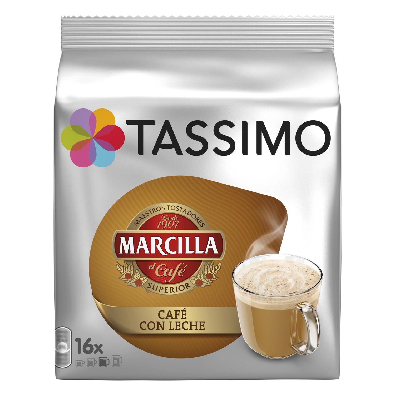 Café con leche en cápsulas