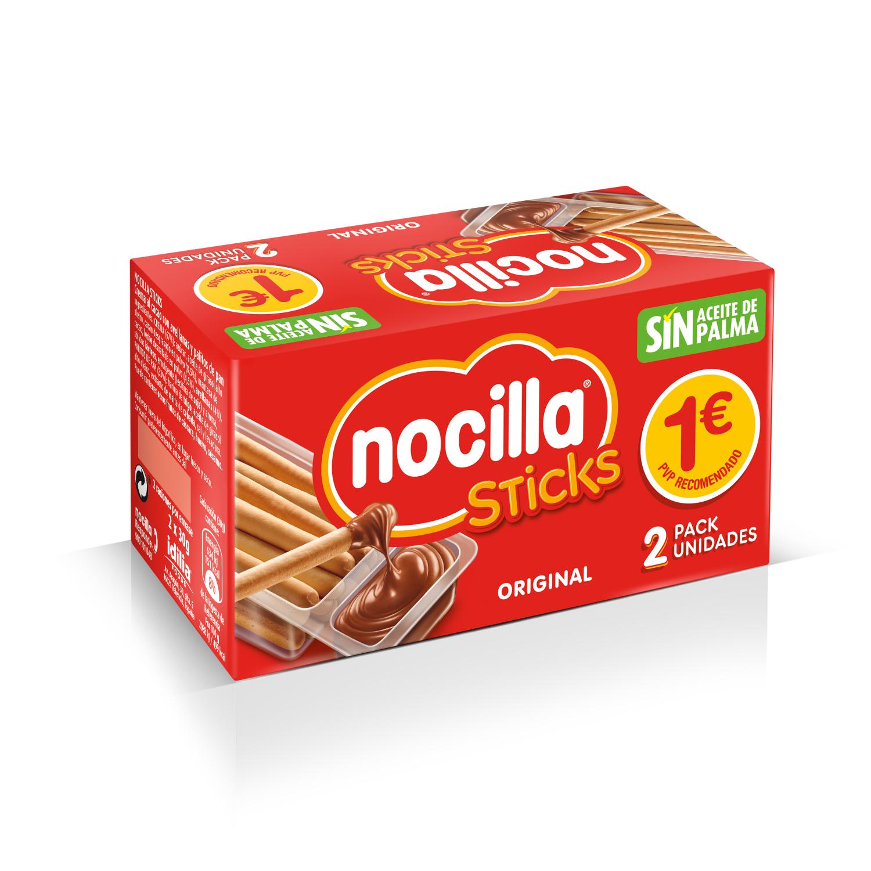 Sticks con crema de cacao y avellana original