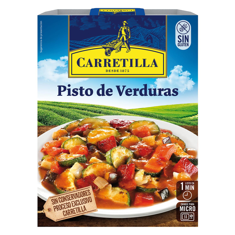 Pisto de verduras Carretilla 240 g.