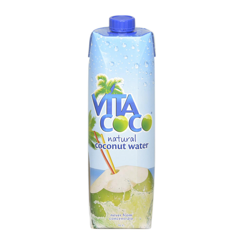 Agua de coco Vitacoco natural brick 1 l.