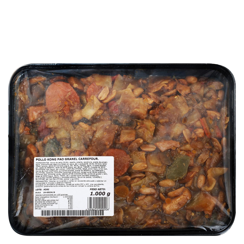 Pollo Kong Pao granel