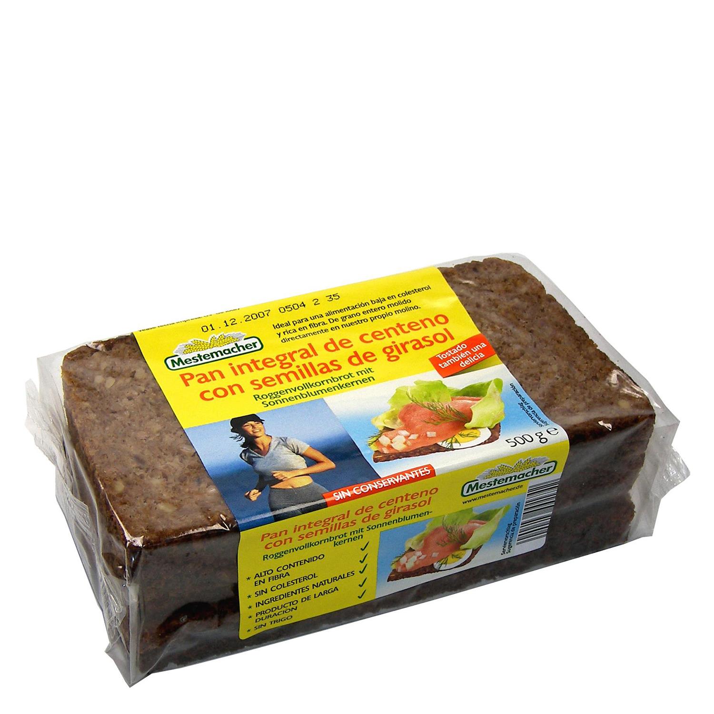 Pan semillas de girasol