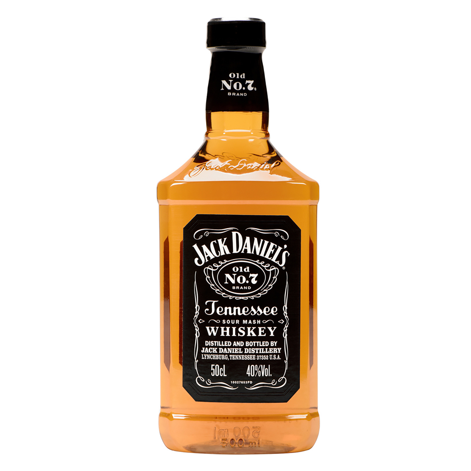 Whisky Tennessee Jack Daniel's  50 cl.