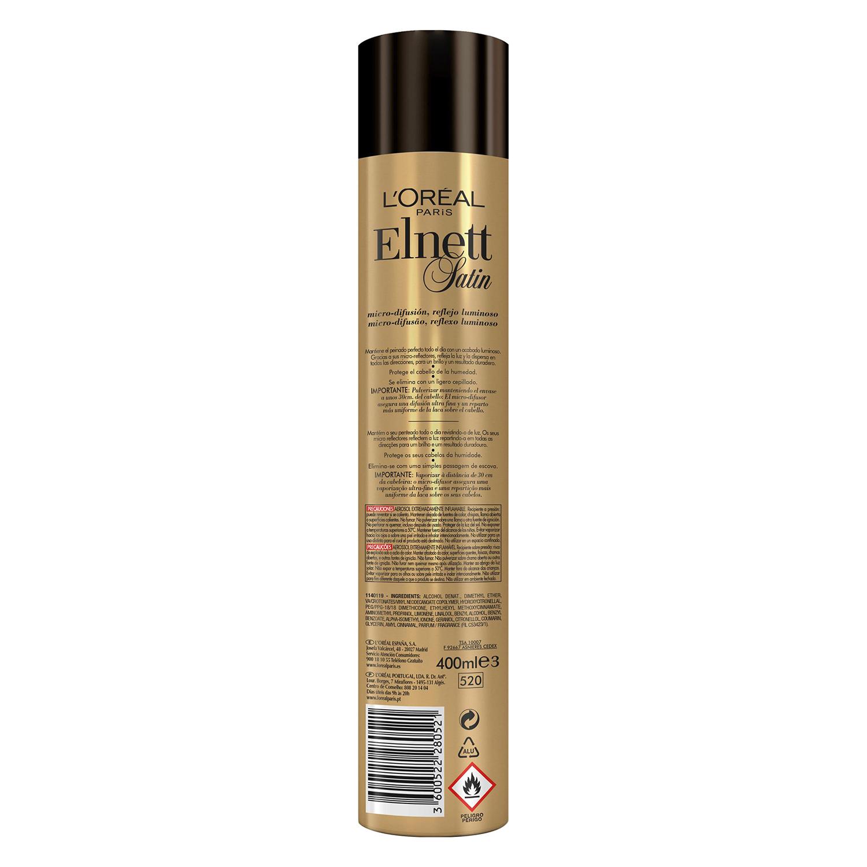 Laca Lumiére extrafuerte L'Oréal Elnett 400 ml. -