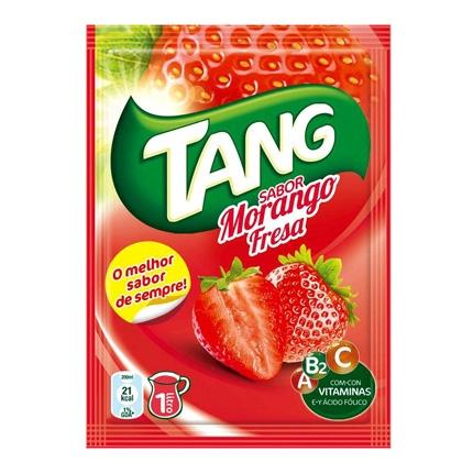 Refresco de fresa Tang sin gas en polvo 30 g.
