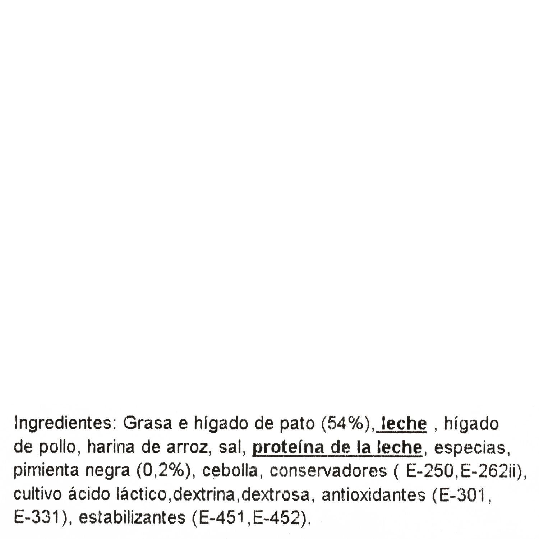 Paté de pato a la  pimienta Cosfer  80 g - 3