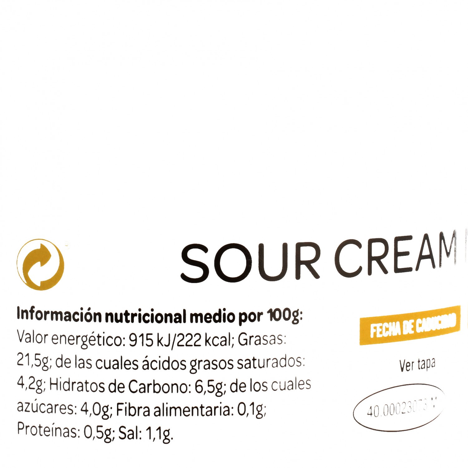 Salsa sour cream mexican style Mexifood 240 g - 4