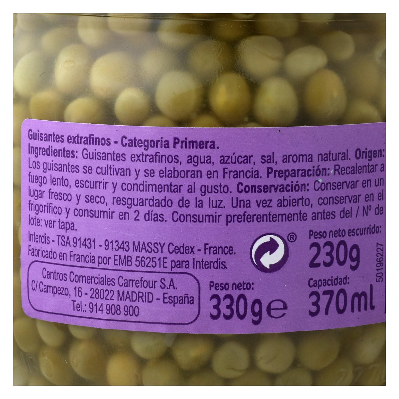 Guisantes extrafinos - 2