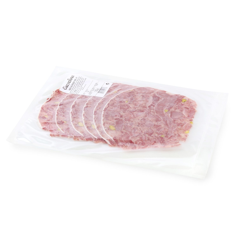 Cabeza de cerdo ibérica con pistachos Frial al corte 250 g aprox - 2