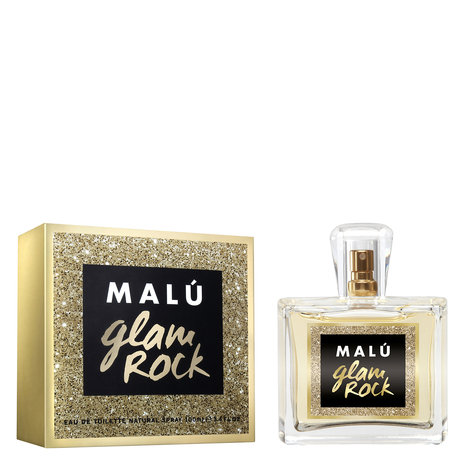 Agua de colonia Glam Rock Malú 100 ml.