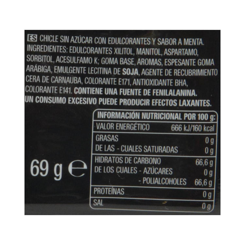 Chicles sabor hierbabuena Five 30 ud. - 2
