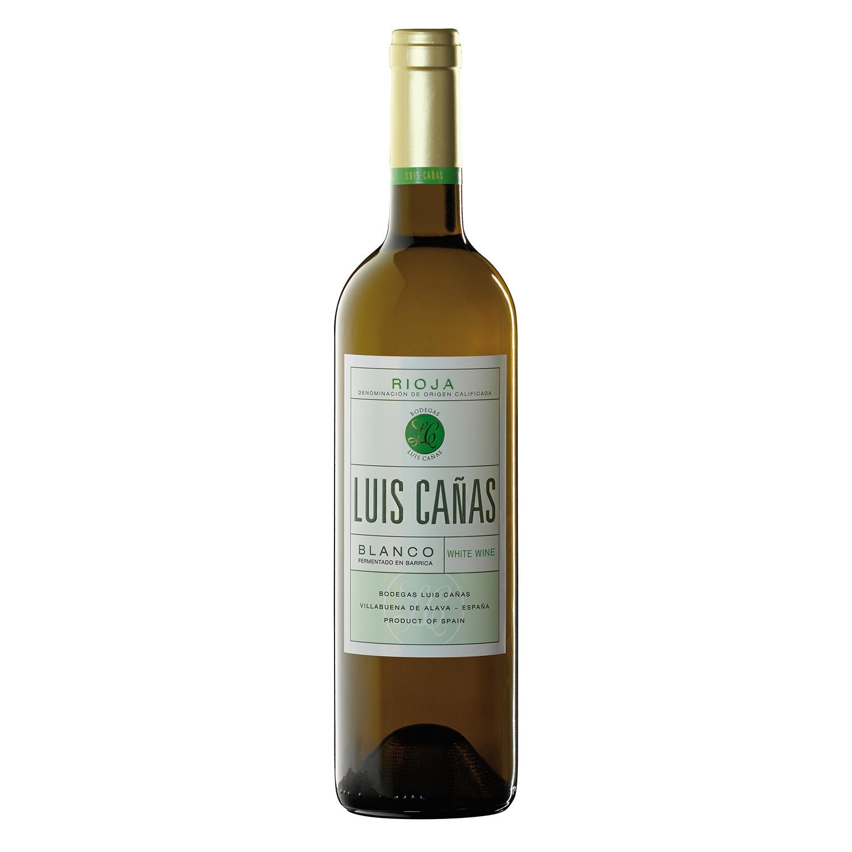 Vino D.O. Rioja blanco fermentado en barrica Luis Cañas 75 cl.