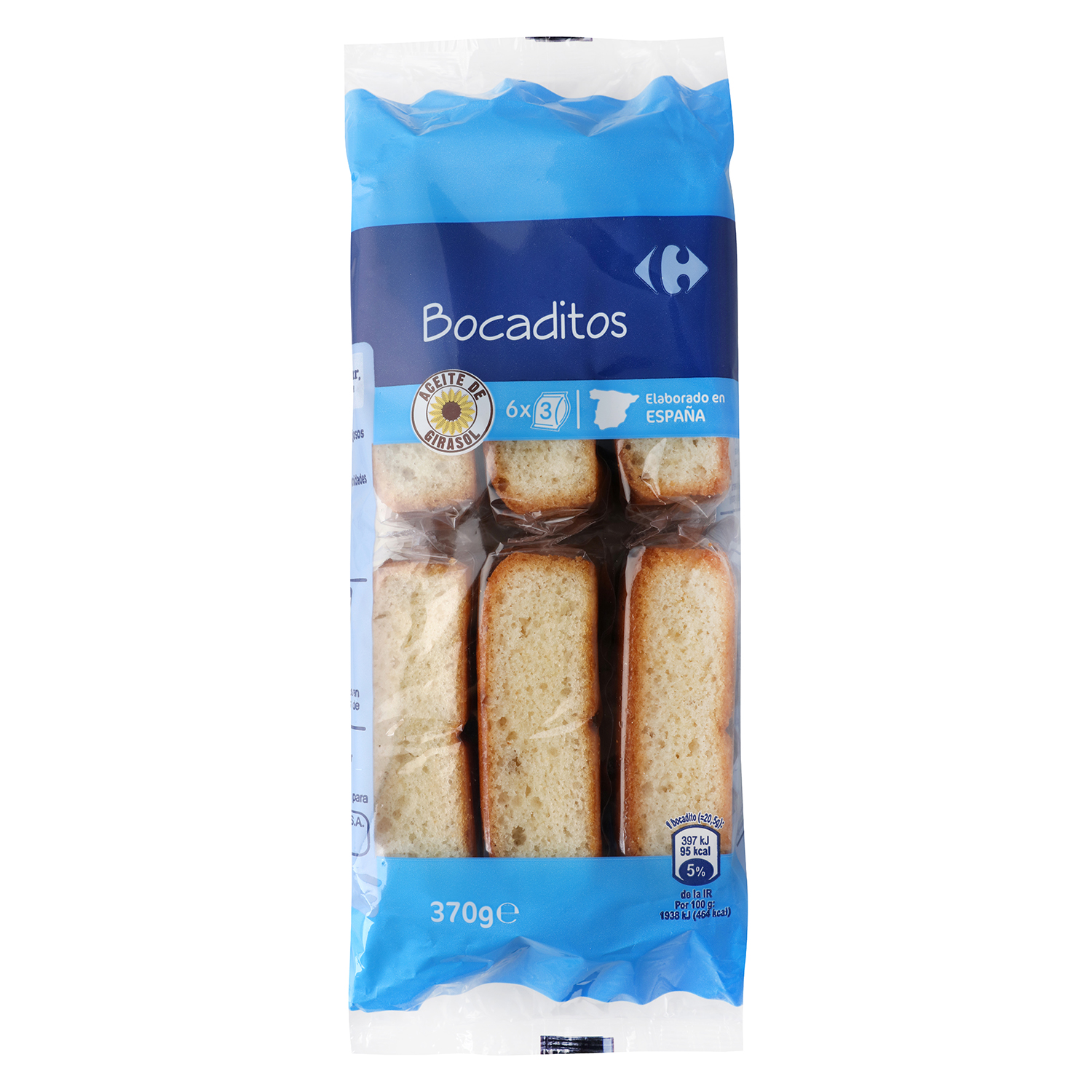 Bocaditos Carrefour 370 g.