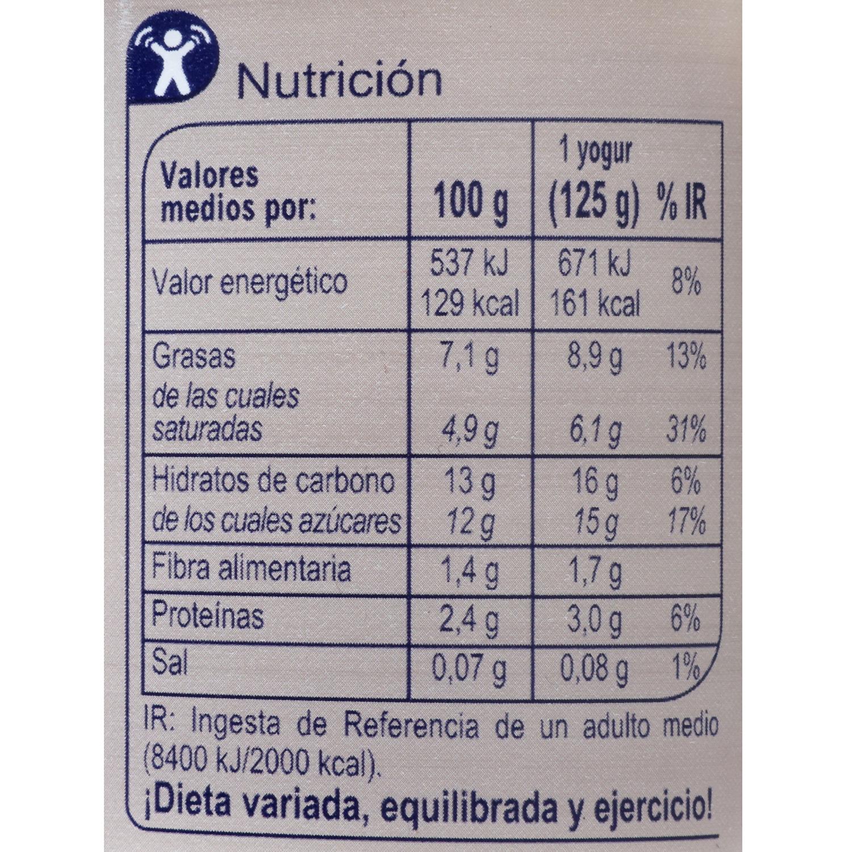 Yogur griego con frutos secos -