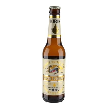 Cerveza Kirin Ichiban botella 33 cl.