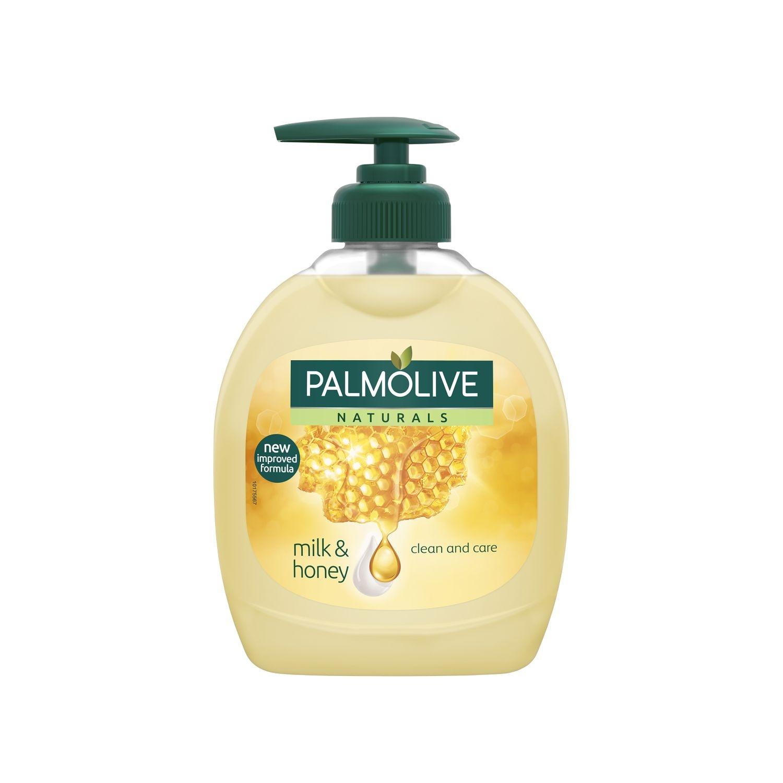 Jabón liquido de manos con leche y miel NB Palmolive 300 ml.