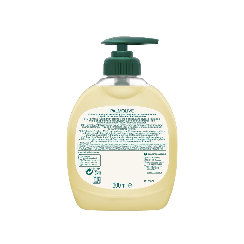 Jabón liquido de manos con leche y miel NB Palmolive 300 ml. -