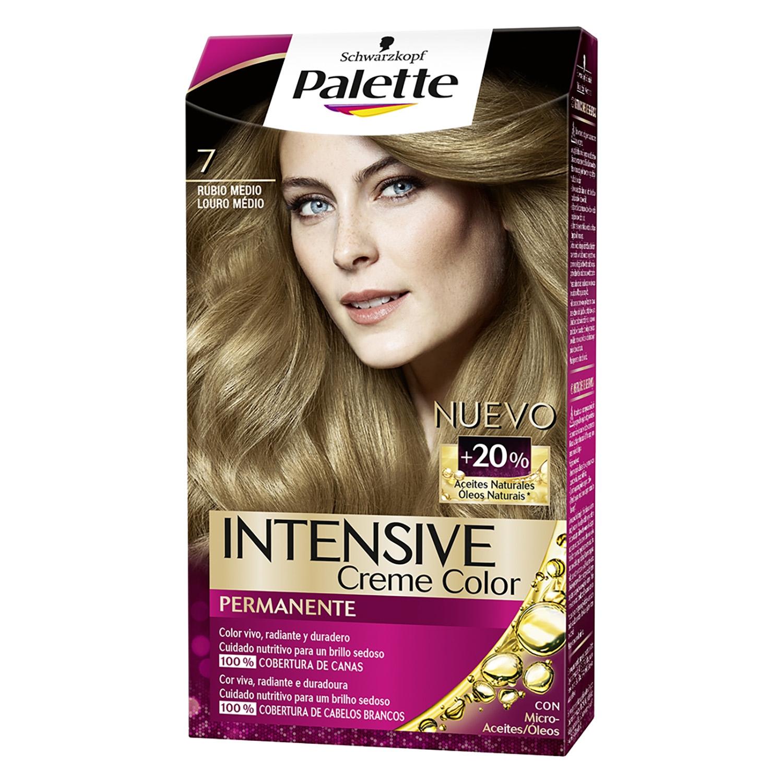 Tinte Intense Color Cream 7 Rubio Medio Tofee Palette 1 ud.