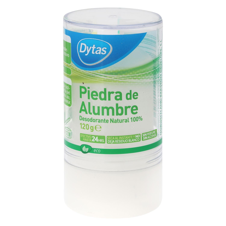 Desodorante stick ecológico Piedra de Alumbre nbd 120 g.
