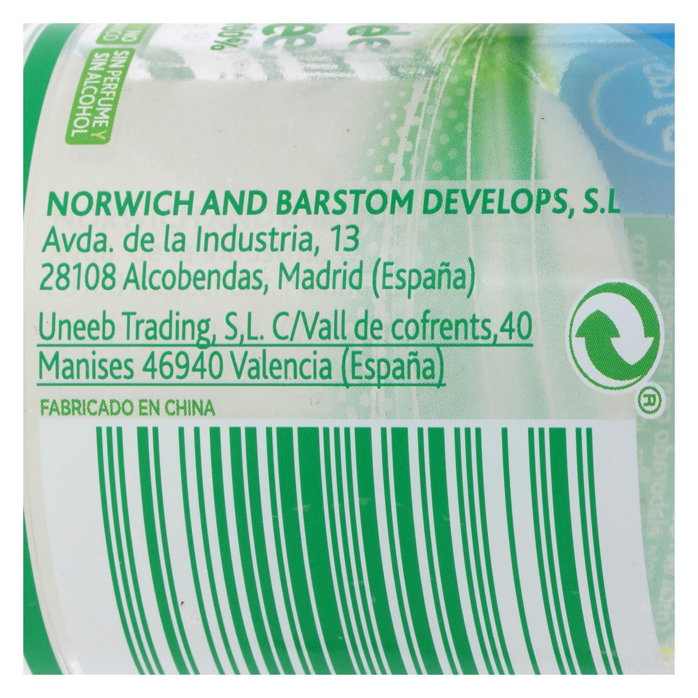 Desodorante stick ecológico Piedra de Alumbre nbd 120 g. - 2