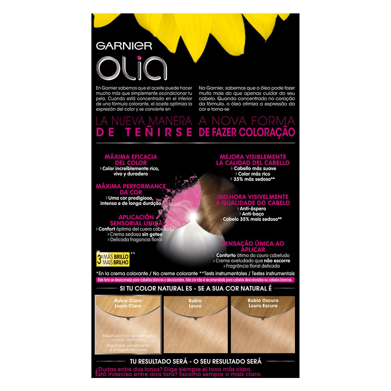 Tinte 10.0 Rubio Extra Claro Garnier Olia 1 ud. - 2