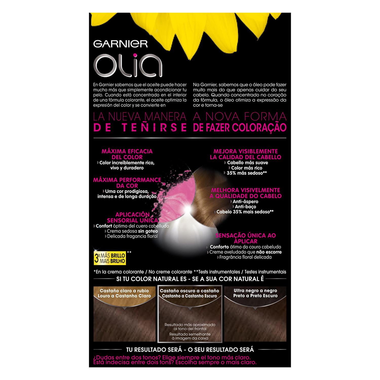 Tinte 4.15 Chocolate Garnier Olia 1 ud. - 2