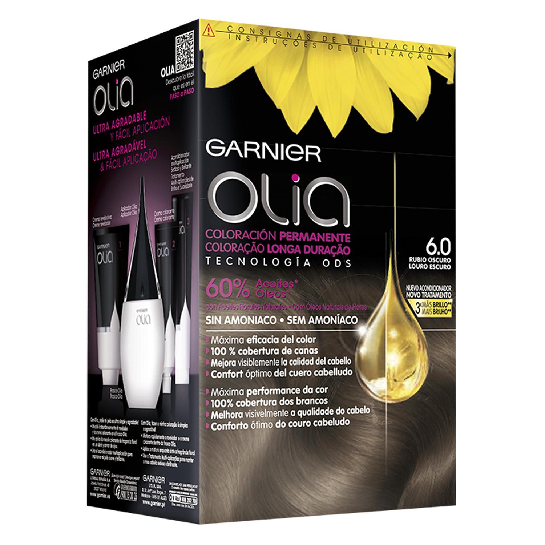 Tinte 6.0 Rubio Oscuro Garnier Olia 1 ud.