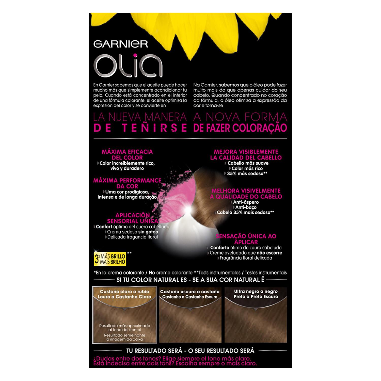 Tinte 6.0 Rubio Oscuro Garnier Olia 1 ud. - 2